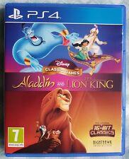 Disney Juegos Clásicos El Rey León Y Aladino (PlayStation 4)