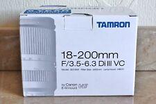 Tamron 18 - 200mm F/3.5 - 6.3 Di III VC - EF-M Mount For EOS M, M2, M3, M5, M6