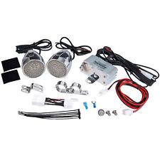 Pyle PLMCA60 Motorcycle Audio Speaker Amp Package