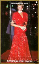 LADY DIANA, PRINCESS OF WALES IN RED DRESS