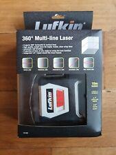 Lufkin 360 degree Multi Line Laser Model LCL360 BNIB Self Levelling Laser