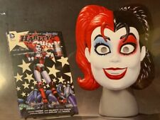 DC Harley QUINN Book and Mask Set - NEW MSRP $35