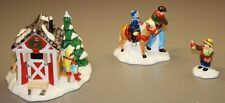 Department 56 Snow Village Pint-Size Pony Rides - 5453-5 Hand Painted Set of 3