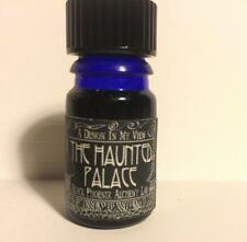 RARE BPAL Black Phoenix Alchemy lab Haunted Palace Perfume Blue Bottle 2005