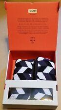 Hunter boot socks Large grey/white BRAND NEW IN BOX