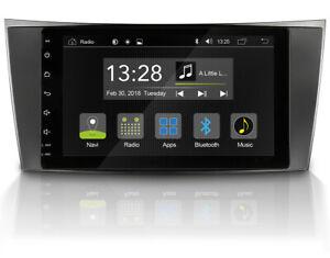 "Pour Mercedes Classe E W211 8 "" Android Voiture Radio GPS USB BT DAB+ App"