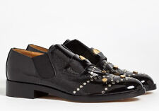 NEW CHLOE Glory Studded Leather Penny Loafers (Size 37) - MSRP $1,150.00!