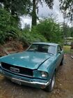 1966 Ford Mustang  1966 Ford Mustang Coupe Blue RWD Automatic