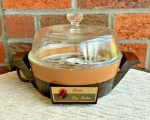 Vintage Oster Automatic Egg Cooker & Poacher 579-01B - Super Clean & Very Nice!!