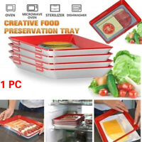 Food Preservation Tray Bakeware Oven Non Stick Cookie Tray Heat Resistant