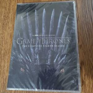 Game of Thrones Season 8 - [4 disc DVD] TV Show Eighth and Final Season - NEW