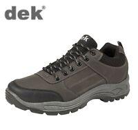 DEK Mens Dark Grey Hiking Walking Trail Shoes Big Sizes 6 7 8 9 10 11 12 13 14
