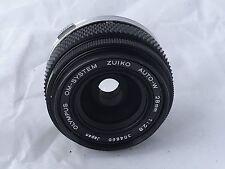 Olympus OM Zuiko 28mm F2.8 Wide Angle Lens - Near Mint