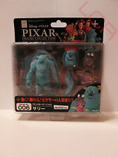 Sulley and Boo Monsters inc. Revoltech Pixar Collection