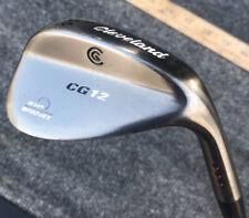 Cleveland CG12 Wedge 56 Degrees Zip Grooves Wedge Flex Steel Shaft