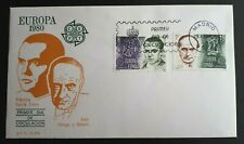 1980 Spain Stamp FDC - Europa 1980  - 28/4/80 - Unaddressed