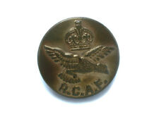 WWII RCAF COAT BUTTONS ROYAL CANADIAN AIR FORCE