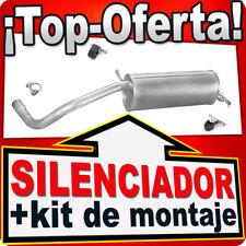 Silenciador Trasero SKODA FABIA SEAT IBIZA VW POLO 1.0 1.4 2001-2009 Escape EET