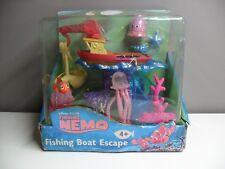 NEW IN BOX DISNEY NEMO FISHING BOAT ESCAPE FIGURE PLAYSET 2003 HASBRO
