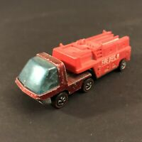 1969 Hot Wheels Redlines The Heavyweights Red Fire Engine Vintage Hong Kong