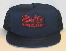 Buffy The Vampire Slayer Tv Series Name on a Black Baseball Cap Hat New