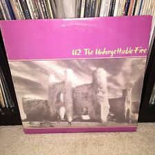 CLUB EDITION U2 Unforgettable Fire LP EXC Vinyl Brian Eno Daniel Lanois Bono