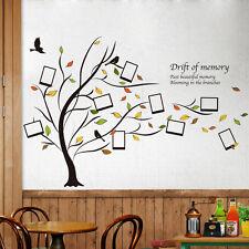 Marcos Foto árbol Monton de Memoria Adhesivo Pared Pegatina Adhesiva Vinilo