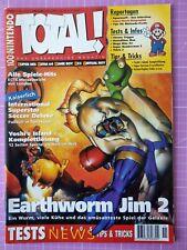 TOTAL! 100% Nintendo Magazin 11/1995 – Sammelauflösung – Sehr guter Zustand