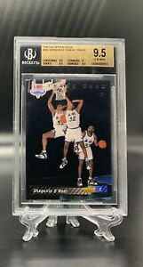 1992 1993 SHAQUILLE O'NEAL SHAQ UPPER DECK TRADE ROOKIE RC BGS 9.5 GEM = PSA 10