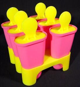 IKEA New Ice Pop Popsicle Mold Maker DIY Juice Bar Blue or Pink