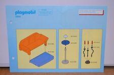 7836 playmobil bouwplan living moderne villa 3966
