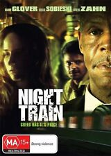 NIGHT TRAIN Danny Glover & Leelee Sobieski (DVD, 2009) VERY GOOD