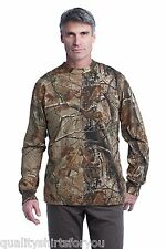 Russell Outdoors Realtree AP Camo Sport Long Sleeve T Shirt Size S-3XL NEW S020R
