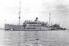 rp14572 - Royal Navy Submarine Depot Ship - HMS Titania , built 1915 - photo 6x4