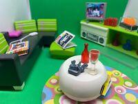 Schöne Playmobil Luxusvillaeinrichtung Modernes Wohnzimmer No. 5584, gebraucht