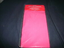 1 NEW Jumbo Pink Book Cover Stretchable Fabric Sox School Student book sock