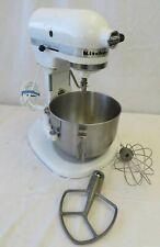 KitchenAid K4SSWH White Lift-Stand Mixer