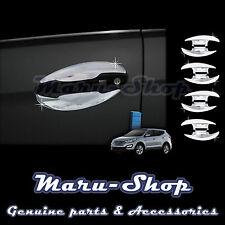 Chrome Door Handle Catch Cup Bowl Cover Trim for 13+ Hyundai Santa Fe Sport