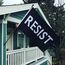 Resist Protest Flag High-Quality Appliquéd (Hand-sewn) 3'x5' Nylon Flag