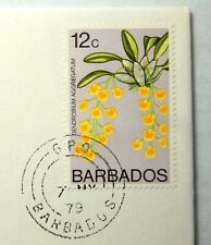 "1979 Barbados 12c Stamp Cancelled 7 MY 79 ""Mint Condition"" SB6242"