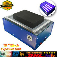Exposure Unit Screen Printing Machine Silk Screen Light Plate Maker 18x12 New