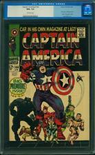 Captain America #100 CGC 9.6 1968 1st Issue! Avengers! Iron Man H6 108 cm clean