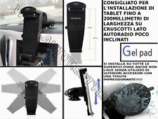SUPPORTO AUTO PER TABLET SU SUPERFICI RUVIDE iPad 4/3/2, Galaxy Tab Galaxy Note