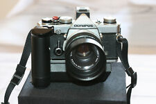 OM-1n - Exc - w/winder 2 - Zuiko 1:1.8 lens