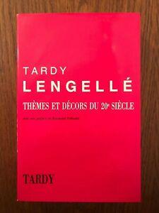 Thèmes et décors du XXe siècle Tome 3 - Tardy