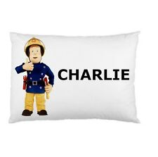 FIREMAN SAM BRAVE Personalized childrens kids BED pillow case