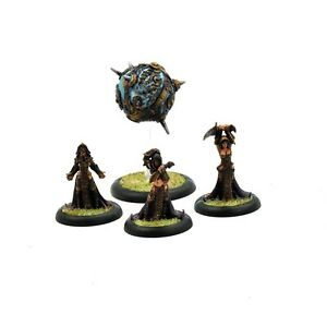 CRYX The Witch Coven of Garlghast & the Egregore METAL #1 WELL PAINTED