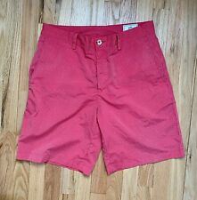 Mens Southern Tide Size 34 Coral Striped Casual Shorts! Great Condition!