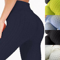Women's Sports Yoga Workout Gym Fitness Leggings Pants Push Up Athletic Clothes
