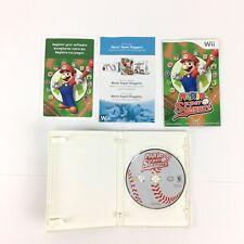 Mario Super Sluggers Baseball Wii Game Nintendo 2008